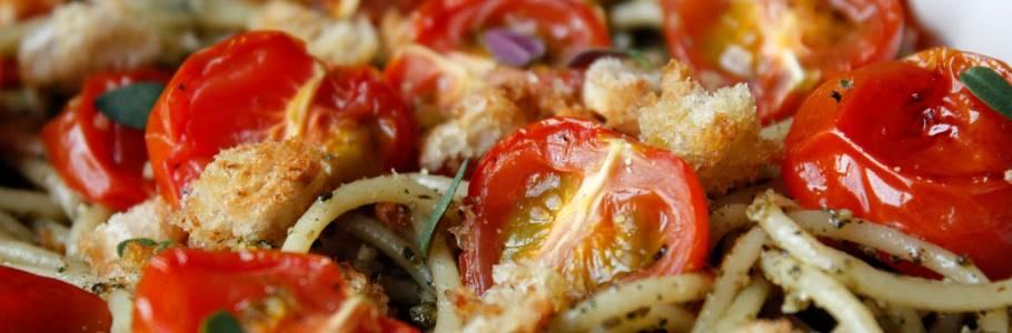Italiaans buffet aan boord