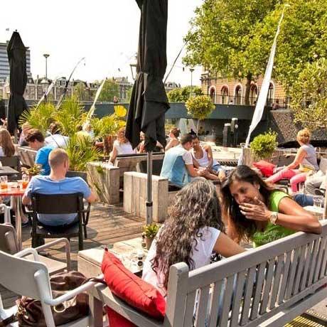 Restaurants aan het water - Amstelhaven
