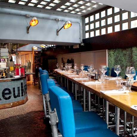 Restaurants in Amsterdam aan het water - Bickers aan de Werf