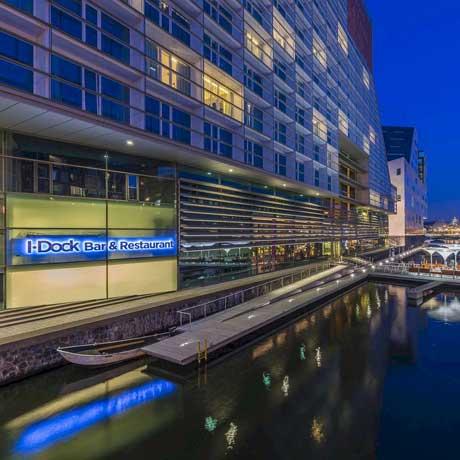 Restaurants in Amsterdam aan het water - I-Dock