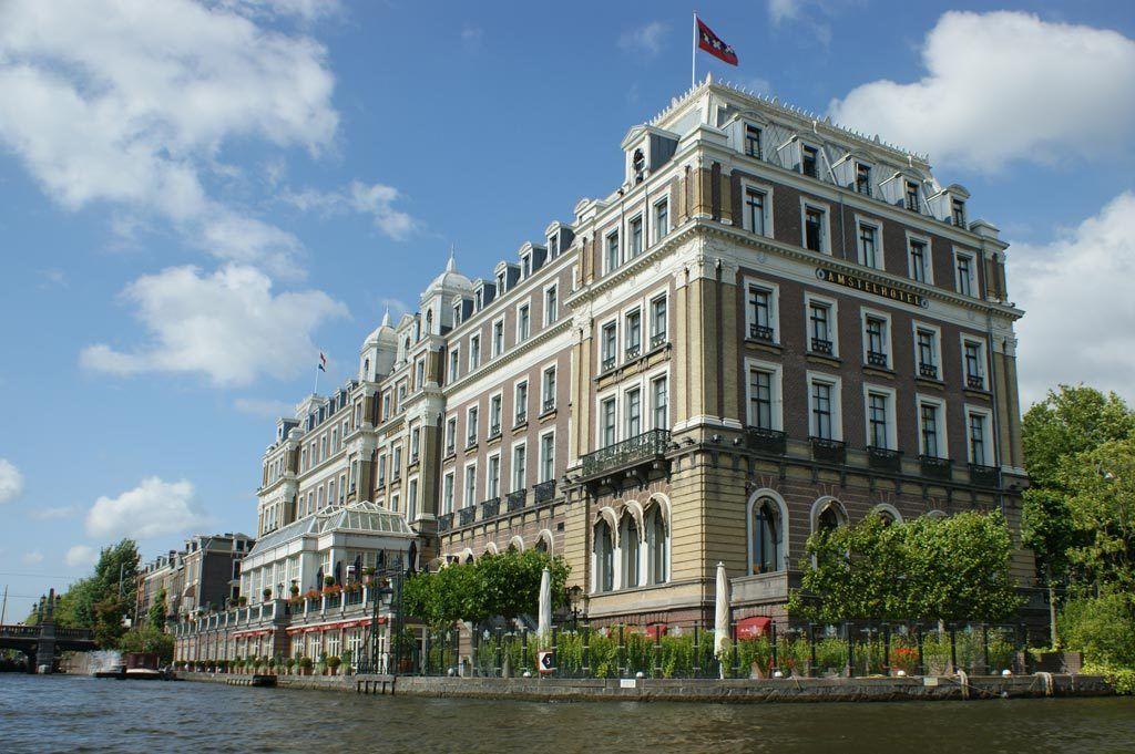 Running dinner aan boord - Amstel Hotel