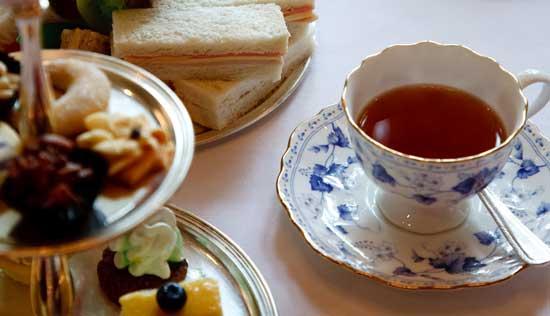 High Tea aan boord