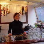 Bar op de 40-persoons trekschuit Jacob van Lennep