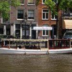 Salonboot Najade - Boot huren Amsterdam met schipper
