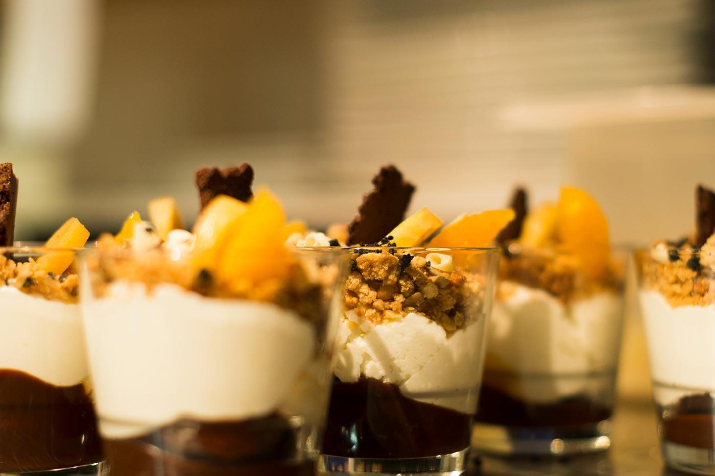 Luxe running dinner van boord - Restaurant Van de Kaart