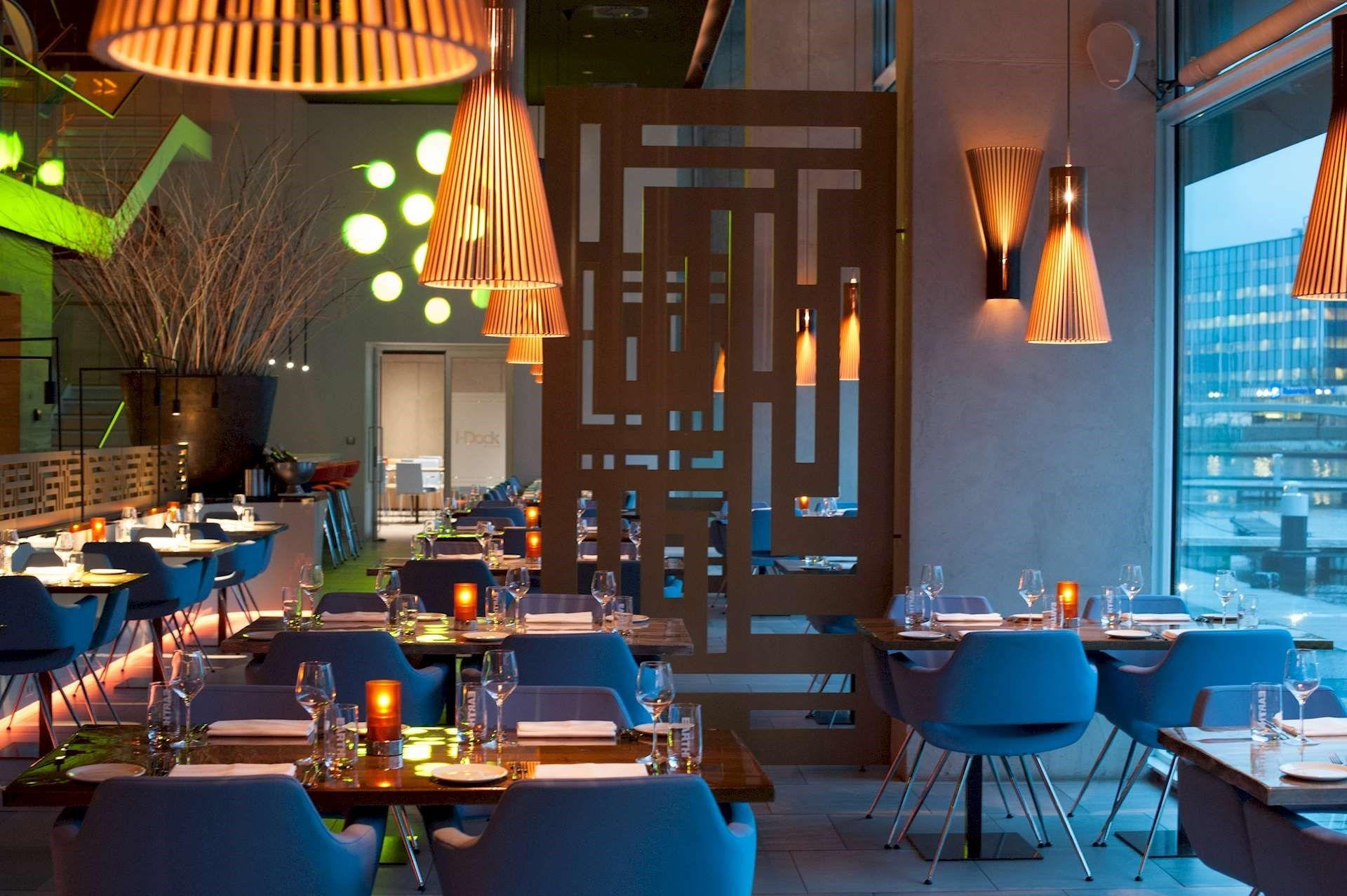 Luxe Running dinner van boord - Restaurant I-Dock