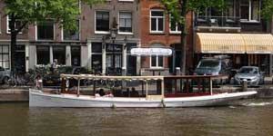 Salonboot huren Amsterdam - Najade