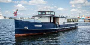 Salonboot huren Amsterdam - Peter de Grote