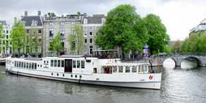 Salonboot huren Amsterdam - Wapen van Amsterdam