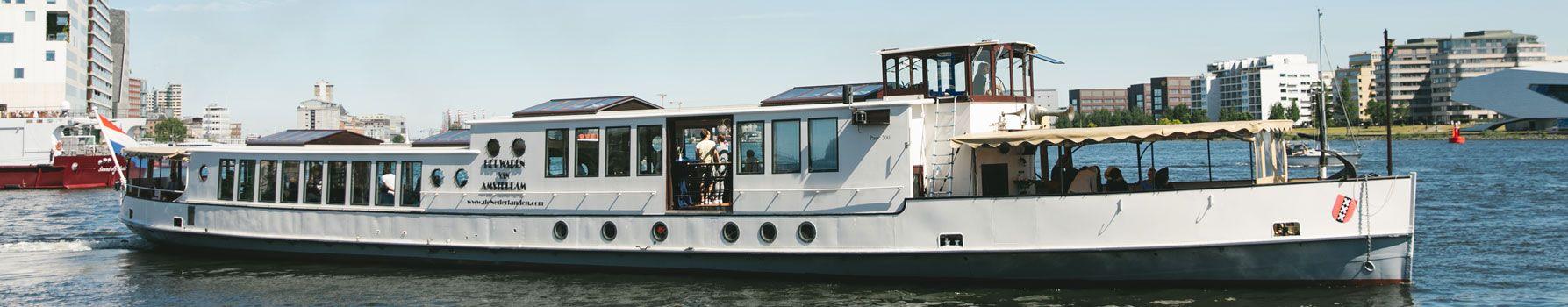 Partyboot huren Amsterdam - Wapen van Amsterdam