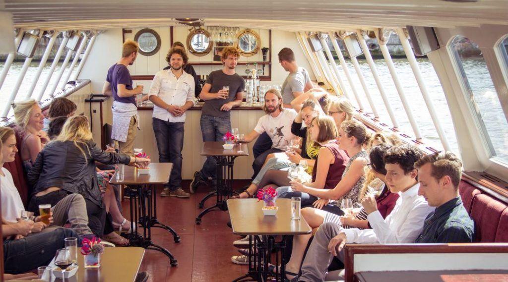 Varend Bruin Café - Amsterdam Pub Cruise - Hildebrand