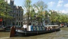 Jacob van Lennep 40 persoons historische trekschuit