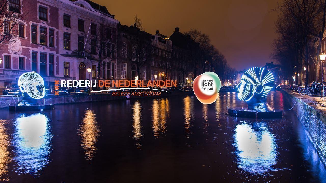 Amsterdam Light Festival - Kerstvakantie arrangement