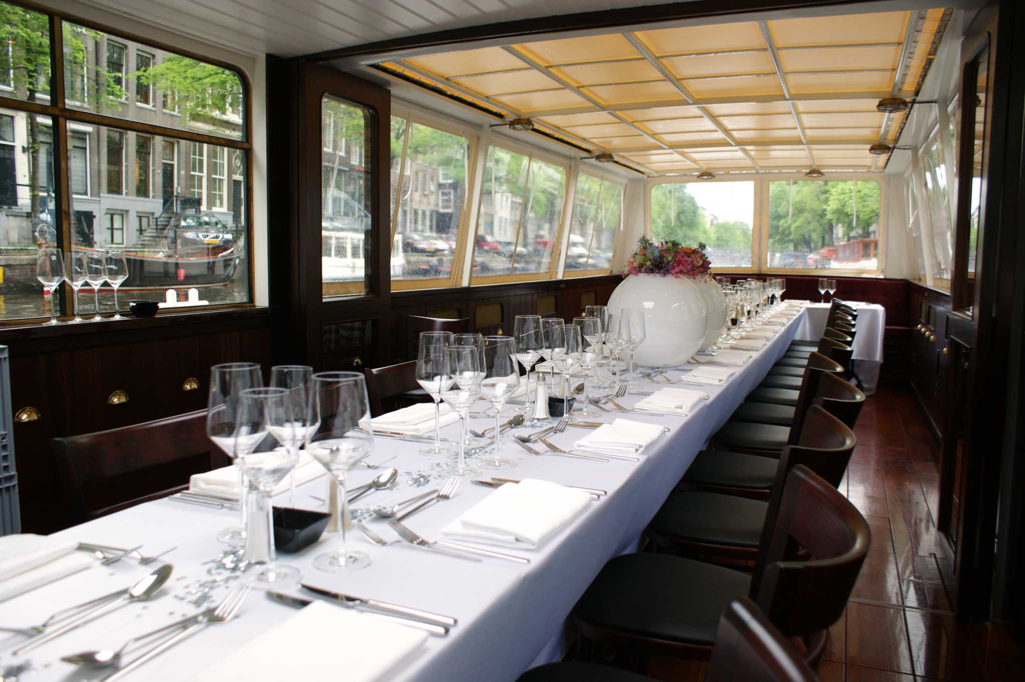 Bredero luxe diner opstelling