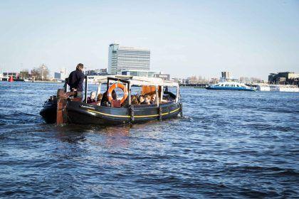 Stella Maris op open water