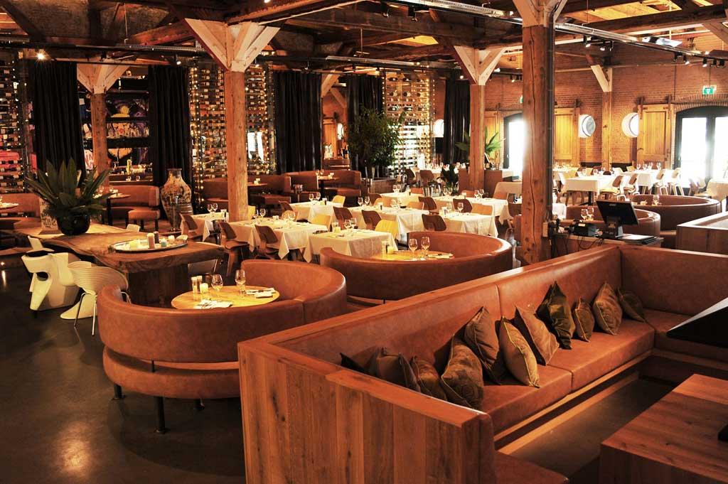 Luxe running dinner rondje IJ van boord - Harbour Club
