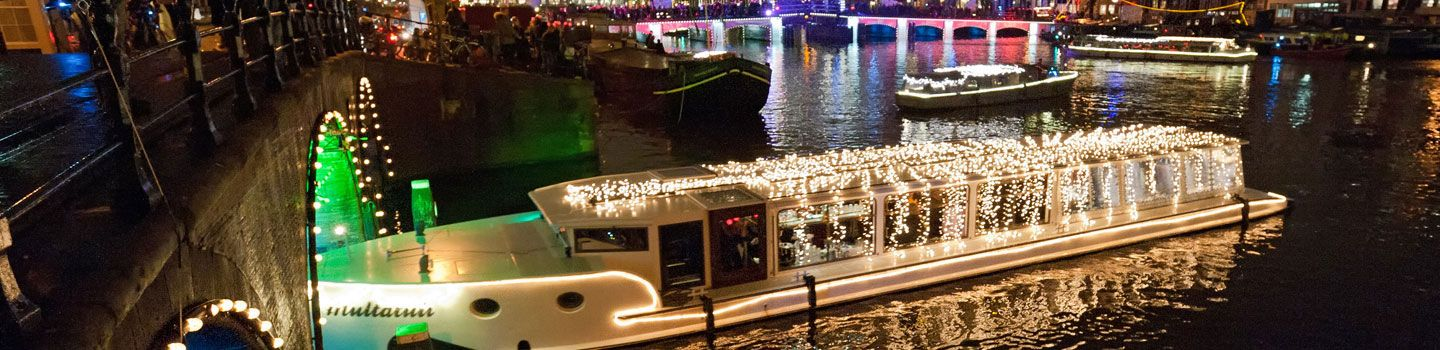 Amsterdam Light Festival - Water Colors route