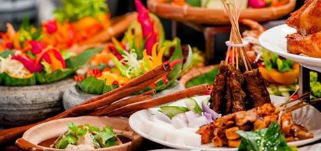 rijsttafel - Indonesian Cruise