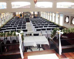 Opstelling grote bruiloftsceremonie